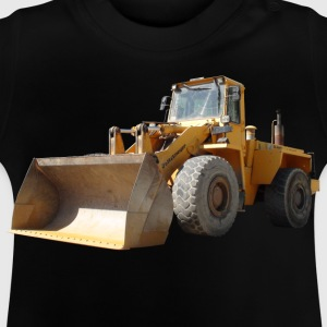 wheel loader_oldtimer Shirts - Baby T-Shirt