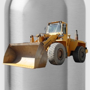 wheel loader_oldtimer Shirts - Water Bottle