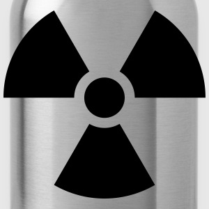 Radioactive Nuclear Danger Shirts - Water Bottle