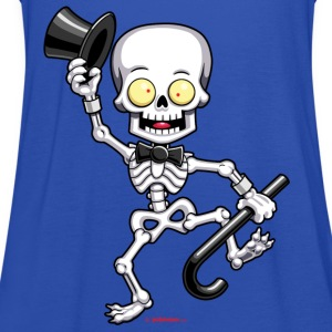 Halloween Skeleton - Yobeeno.com Shirts - Women's Tank Top by Bella