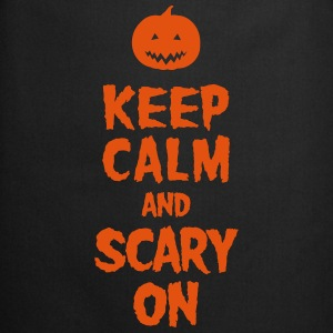 Keep Calm And Scary On T-skjorter - Kokkeforkle