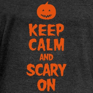 Keep Calm And Scary On Tee shirts - Pull Femme col bateau de Bella