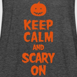 Keep Calm And Scary On T-shirts - Vrouwen tank top van Bella