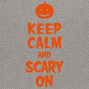 Keep Calm And Scary On T-skjorter - Snapback-caps
