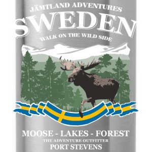 Sweden - Moose, Lakes & Forest Pullover & Hoodies - Trinkflasche