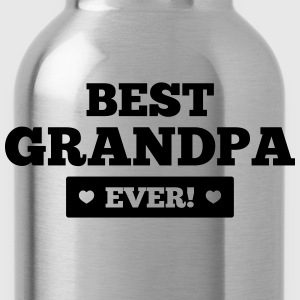 Best grandpa ever T-Shirts - Trinkflasche