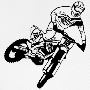 Motocross - Supercross T-shirts - Basebollkeps