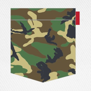 Woodland Camo Patch T-Shirts - Baseball Cap