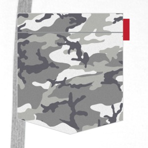 Urban Camo Pocket Patch T-Shirts - Men's Premium Hoodie