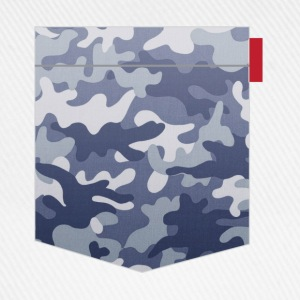 Blue Camo Pocket Patch T-Shirts - Baseball Cap