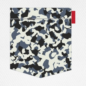 Navy Camo Pocket Patch T-Shirts - Baseball Cap