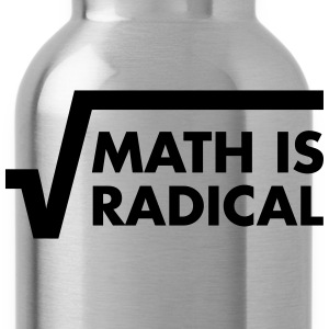 Math Is Radical T-shirts - Vattenflaska