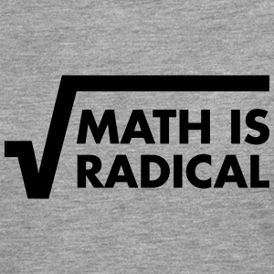 Math Is Radical T-shirts - Långärmad premium-T-shirt herr