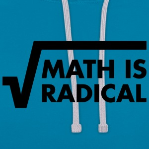 Math Is Radical T-shirts - Contrast hoodie
