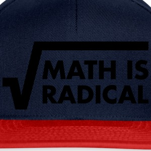 Math Is Radical Camisetas - Gorra Snapback