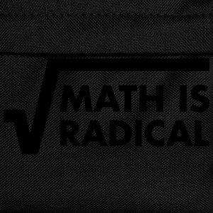 Math Is Radical Camisetas - Mochila infantil