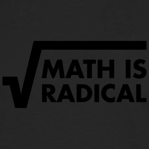 Math Is Radical T-Shirts - Men's Premium Longsleeve Shirt