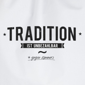 Tradition statt Komerz - Turnbeutel
