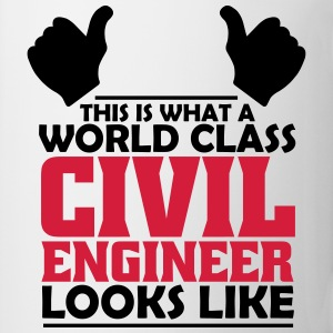 world class civil engineer T-Shirts - Mug