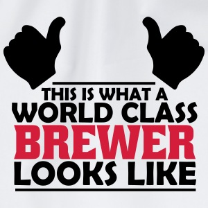 world class brewer T-Shirts - Drawstring Bag