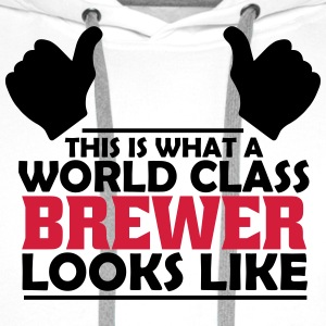 world class brewer T-Shirts - Men's Premium Hoodie