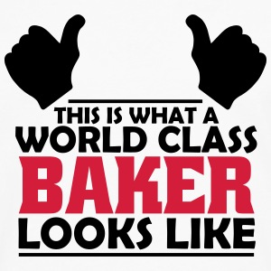 world class baker T-Shirts - Men's Premium Longsleeve Shirt