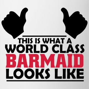 world class barmaid T-Shirts - Mug
