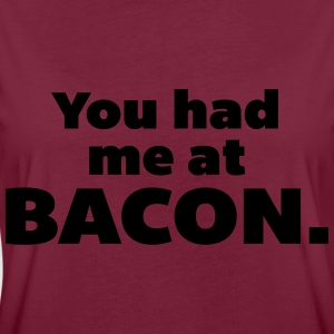 You Had Me At Bacon  Sweaters - Vrouwen oversize T-shirt