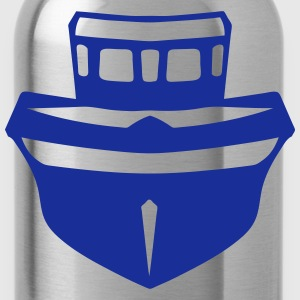 Boat face_29 T-Shirts - Water Bottle