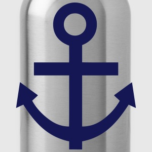 Marine anchor 29 T-Shirts - Water Bottle