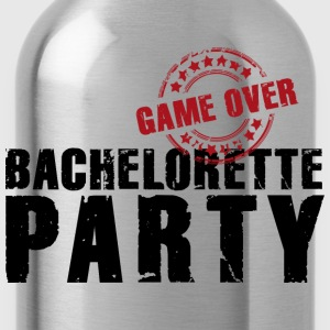 Frauen T-Shirt Team Bride game over Bachelorette P - Trinkflasche