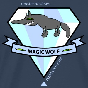 Magic Wolf Singlets - Premium T-skjorte for menn
