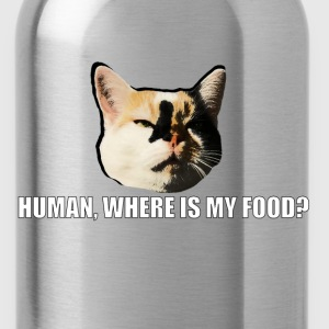 Cat_Meme_PULLOVER MAN - Water Bottle