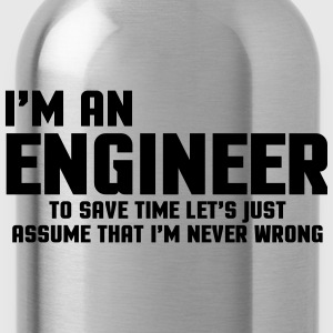 I'm An Engineer  Hoodies & Sweatshirts - Water Bottle