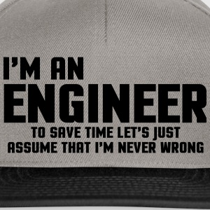 I'm An Engineer  Hoodies & Sweatshirts - Snapback Cap