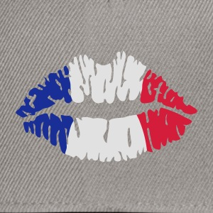 French flag lips T-Shirts - Snapback Cap