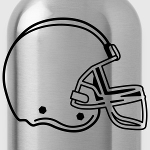 american football T-Shirts - Water Bottle