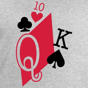 playing cards T-Shirts - Men's Sweatshirt by Stanley & Stella