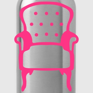 Chic old armchair 2509 Shirts - Water Bottle