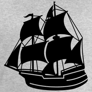 pirate ship T-Shirts - Men's Sweatshirt by Stanley & Stella