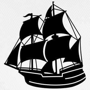 pirate ship T-Shirts - Baseball Cap