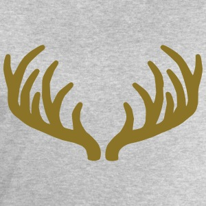 Deer Roe Buck Antlers T-Shirts - Men's Sweatshirt by Stanley & Stella