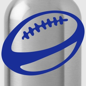 Rugby ball 2409 T-Shirts - Water Bottle