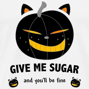 give me sugar Toppe - Herre premium T-shirt