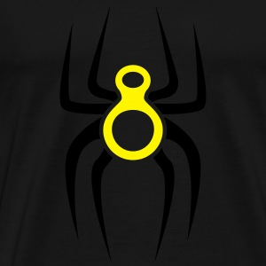 Spider-eight Tanktops - Mannen Premium T-shirt