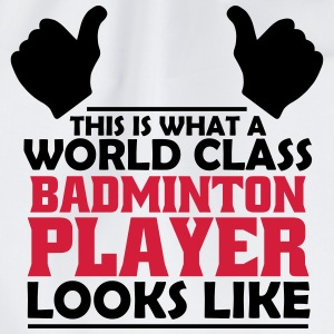 world class badminton player T-Shirts - Drawstring Bag