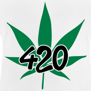 420 with leaf T-Shirts - Baby T-Shirt