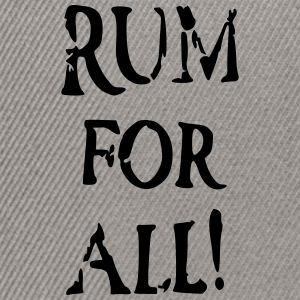 Rum for all - Snapback Cap