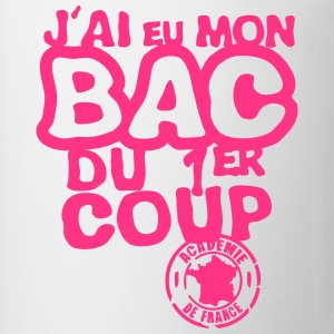 bac diplome 1er coup academie france Tee shirts - Tasse