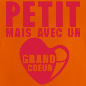 petit grand coeur citation 182 Tee shirts - T-shirt Bébé